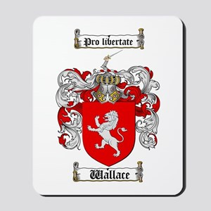 Wallace Coat of Arms Mousepad