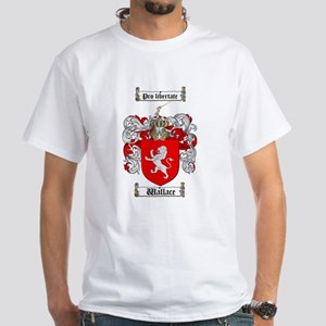 Wallace Coat of Arms White T-Shirt