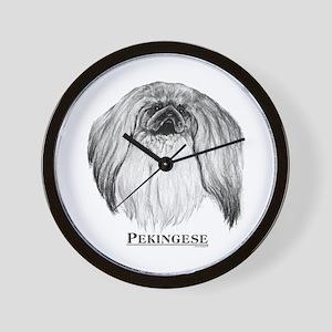 Pekingese Dog Breed Wall Clock