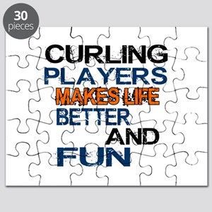 Curling Players Makes Life Better And Fun Puzzle
