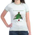 Sounds of Christmas Jr. Ringer T-Shirt