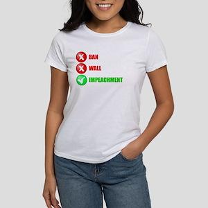 No Ban No Wall Impeachment T-Shirt