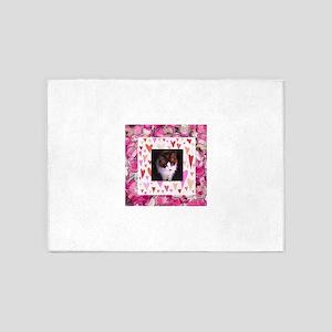 Simon the Love Cat 5'x7'Area Rug