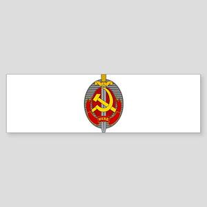 NKVD Emblem Bumper Sticker