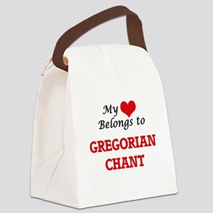 My heart belongs to Gregorian Cha Canvas Lunch Bag