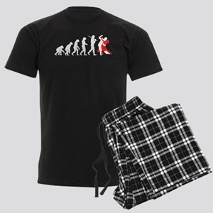 Evolution-Dance1white Pajamas