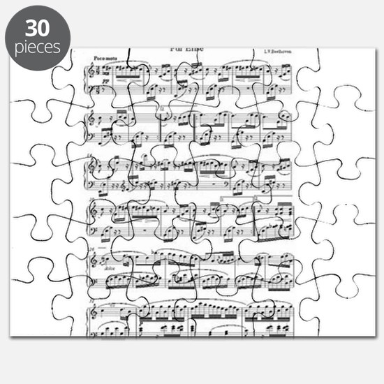 Beethoven, Fur Elise Puzzle