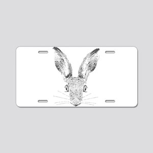 March Hare Aluminum License Plate