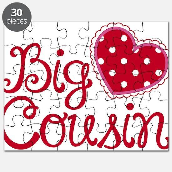 Heart Big Cousin Puzzle