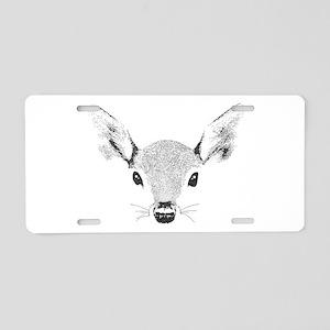 Doe a Deer Aluminum License Plate