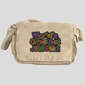 Worlds Greatest Jerome Messenger Bag