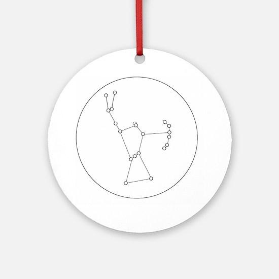Unique Orion Round Ornament