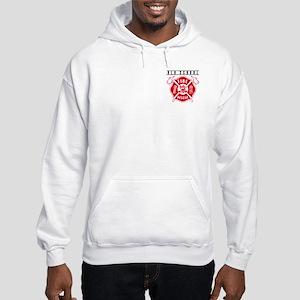 FIREFIGHTERS HOW WE ROLL Hooded Sweatshirt