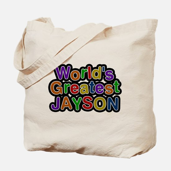 Worlds Greatest Jayson Tote Bag