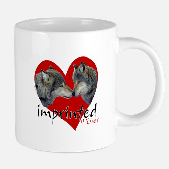 Imprinted 4 Ever Wolves Mugs