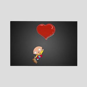 Family Guy Heart Rectangle Magnet