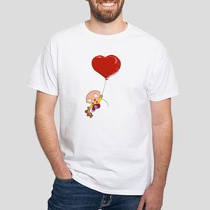 Family Guy Heart White T-Shirt