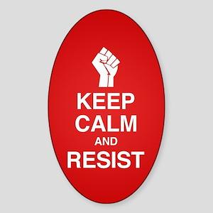 Keep Calm and Resist Sticker
