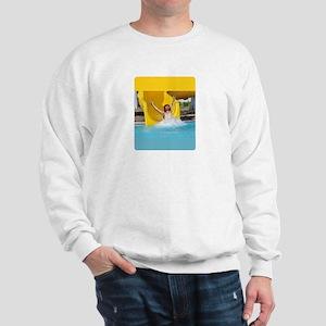 Jesus Holy Slide Sweatshirt