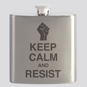 Keep Calm and Resist Flask