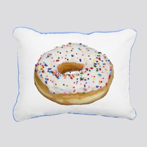 Donut Rectangular Canvas Pillow