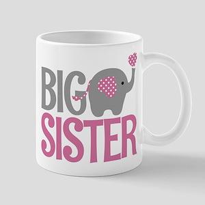 Elephant Big Sister Mugs