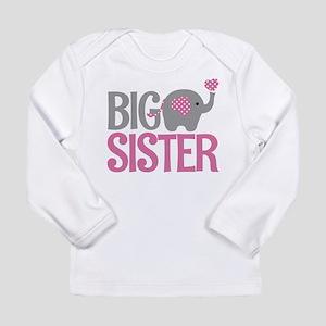 Elephant Big Sister Long Sleeve T-Shirt