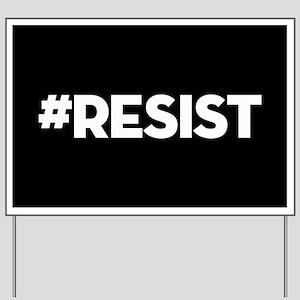 #RESIST Yard Sign
