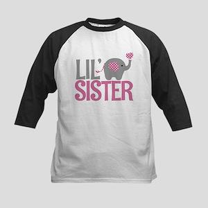 Elephant Little Sister Baseball Jersey
