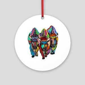 TRIO Round Ornament