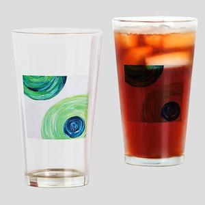 Orbit by Michelle Lynn Drinking Glass