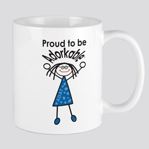 Proud to be Adorkable-Woman Mugs