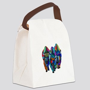 TRIO Canvas Lunch Bag