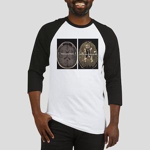 Brain on MS Baseball Jersey