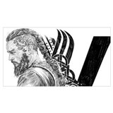Nordic viking Wrapped Canvas Art
