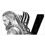 Nordic viking Framed Prints