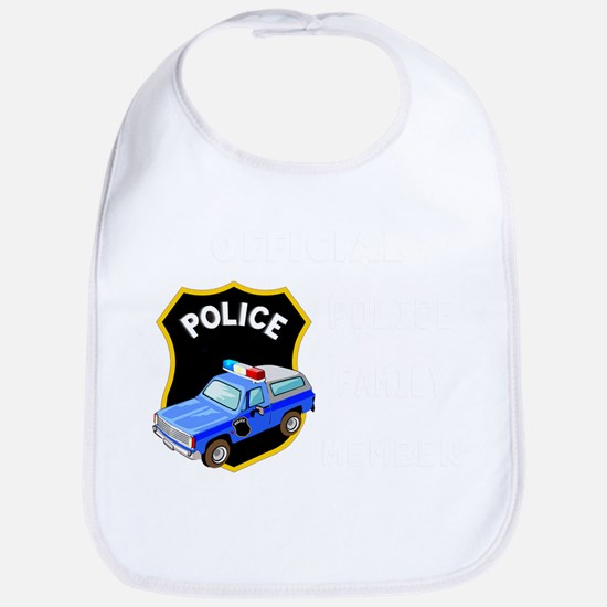 official police fam... Baby Bib