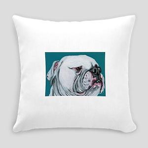 American Bulldog Everyday Pillow
