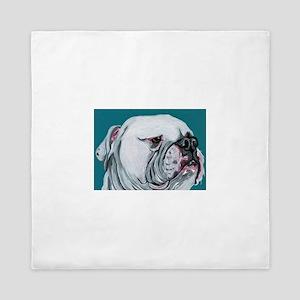 American Bulldog Queen Duvet