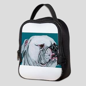 American Bulldog Neoprene Lunch Bag