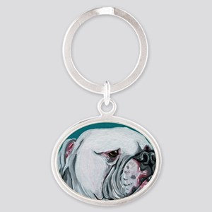 American Bulldog Keychains