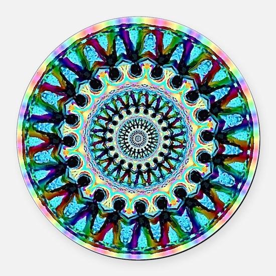 SPIRIT INFINITY Round Car Magnet