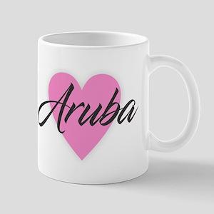 I Heart Aruba Mugs