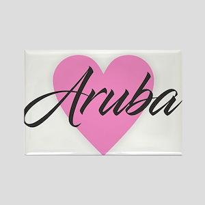 I Heart Aruba Magnets
