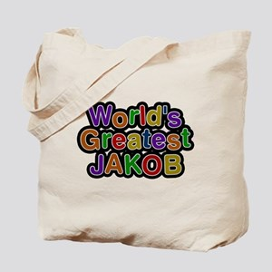 Worlds Greatest Jakob Tote Bag