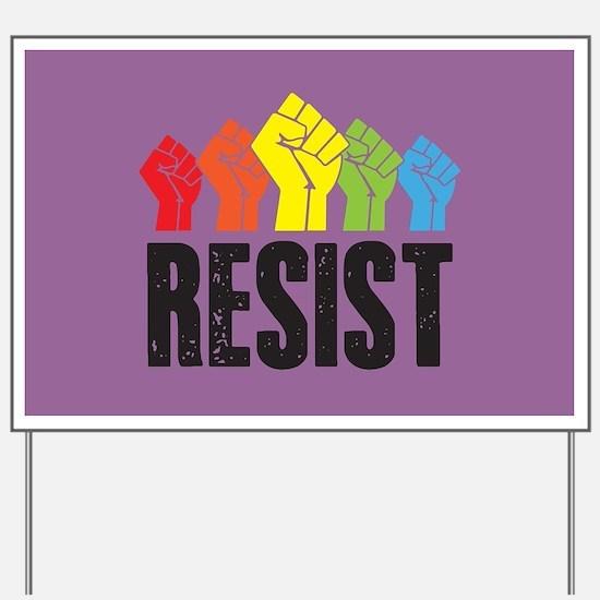 Resist Yard Sign