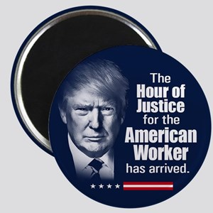"Trump Quote - American Work 2.25"" Magnet (10 pack)"
