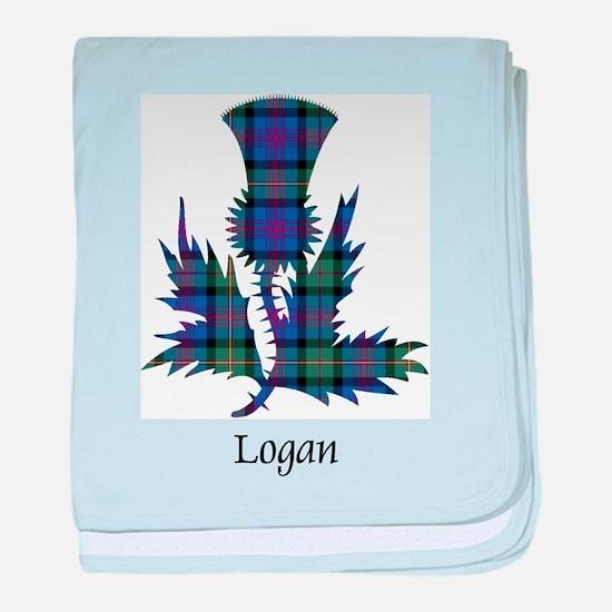 Thistle - Logan baby blanket
