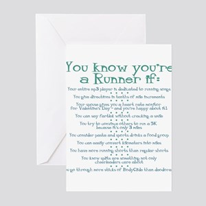 You Know You're a Runner If Greeting Cards (Packa