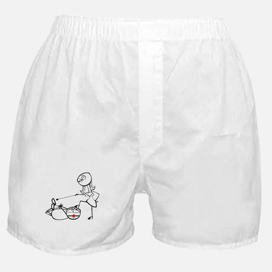 BDSM hogtie Boxer Shorts